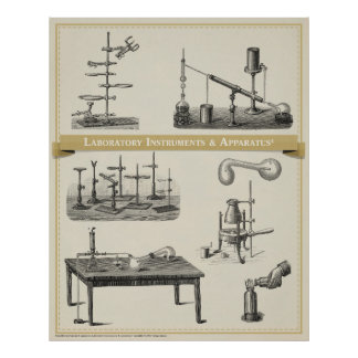 Laboratory Instruments & Apparatus 4 Posters
