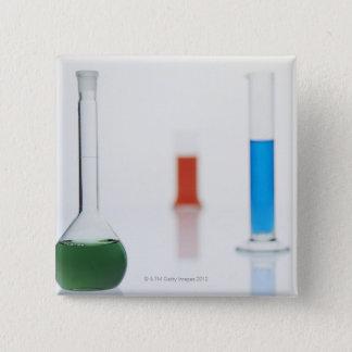 Laboratory Shots 15 Cm Square Badge