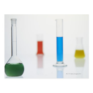 Laboratory Shots Postcard