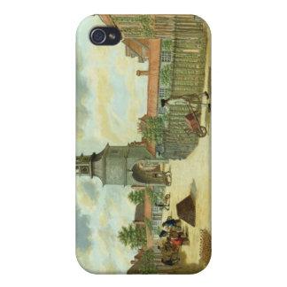 Laboratory Square iPhone 4/4S Cover