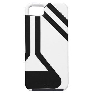 Laboratory symbol against white background iPhone 5 cover