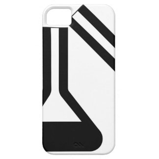 Laboratory symbol against white background iPhone 5 covers