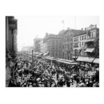 Labour Day Crowd, Buffalo, NY: 1900 Post Card