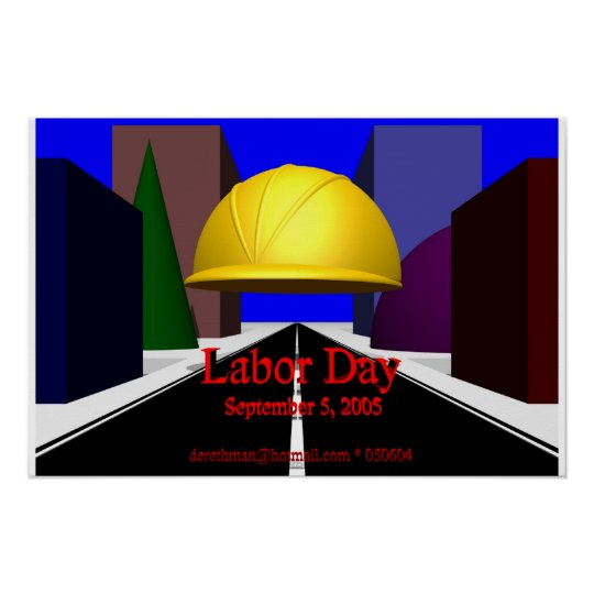 Labour Day (print) Poster