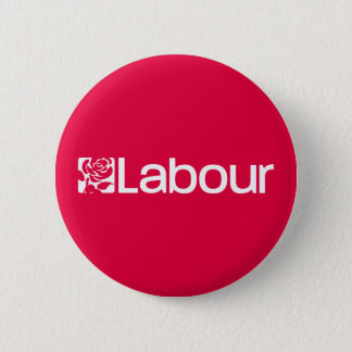 Labour Party UK 6 Cm Round Badge