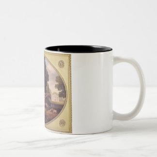 Labourers, 1781 (enamel on biscuit earthe coffee mugs
