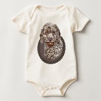 Labradoodle 001 baby bodysuit