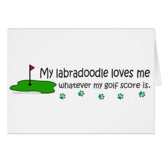 Labradoodle Card