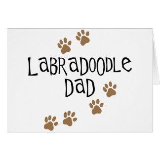 Labradoodle Dad Cards