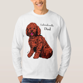 Labradoodle Dad Men's Long Sleeve T-Shirt