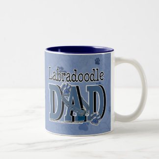LabraDoodle DAD Two-Tone Coffee Mug