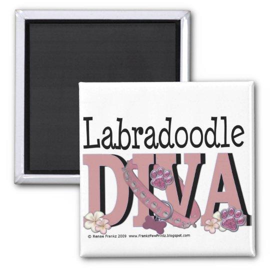 LabraDoodle DIVA Magnet