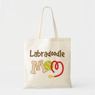 Labradoodle Dog Breed Mom Gift Budget Tote Bag