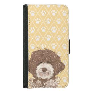 Labradoodle Dog Brown | Pet Samsung Galaxy S5 Wallet Case