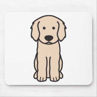 Labradoodle Dog Cartoon Mouse Mat