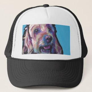 Labradoodle Dog fun bright pop art Trucker Hat