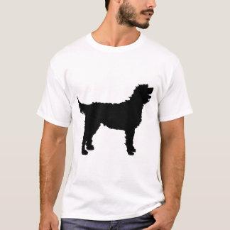 Labradoodle Dog (in black) T-Shirt