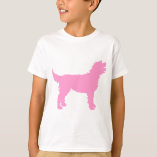 Labradoodle Dog (in pink) T-Shirt