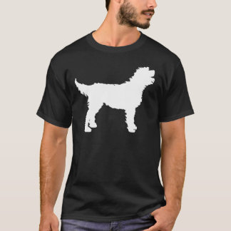 Labradoodle Dog (in white) T-Shirt