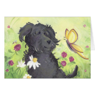 Labradoodle Doodle Dog / Birthday Card