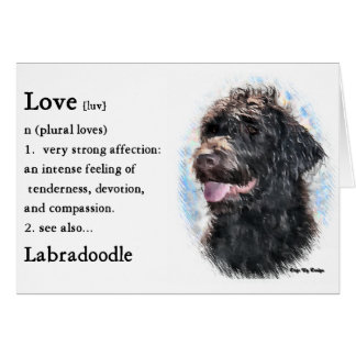 Labradoodle Gifts Card