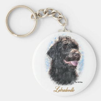 Labradoodle Gifts Keychains