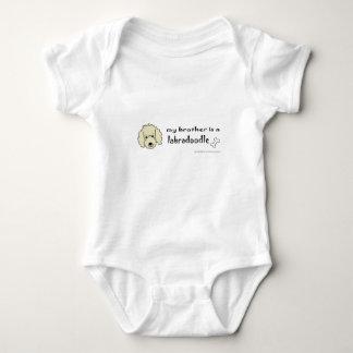 labradoodle infant creeper