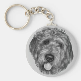 Labradoodle Keychains