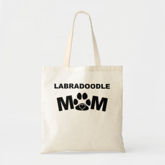 Labradoodle Mom Budget Tote Bag