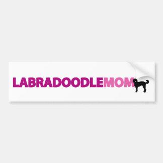 Labradoodle Mum Bumper Sticker