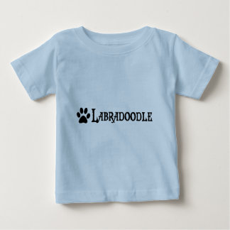 Labradoodle (pirate style w/ pawprint) baby T-Shirt