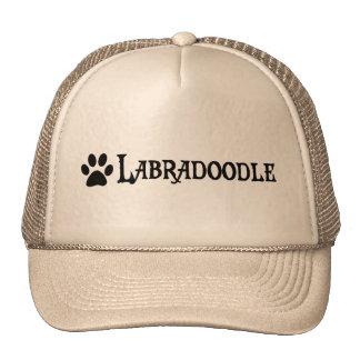 Labradoodle (pirate style w/ pawprint) cap