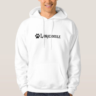 Labradoodle (pirate style w/ pawprint) hoodie
