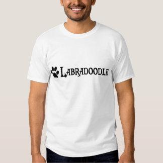 Labradoodle (pirate style w/ pawprint) t shirt