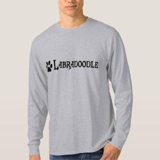 Labradoodle (pirate style w/ pawprint) t-shirts