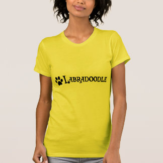 Labradoodle (pirate style w/ pawprint) tshirt