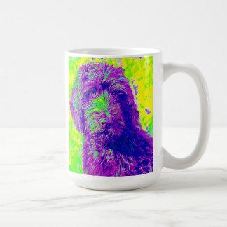labradoodle- purple mug