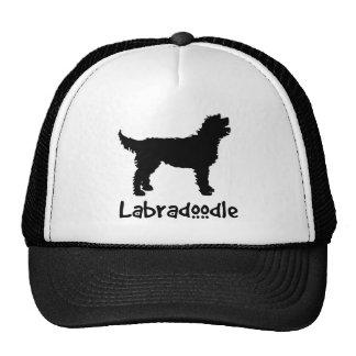 Labradoodle w/ Cool Text Cap