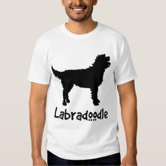 Labradoodle w/ Cool Text (in black) Shirts