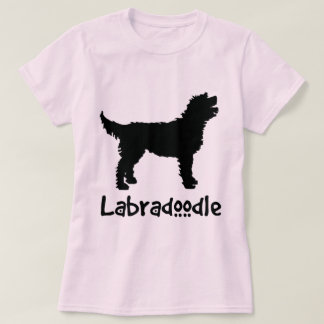 Labradoodle w/ Cool Text (in black) T Shirt