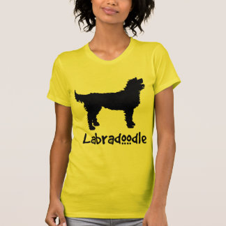Labradoodle w/ Cool Text (in black) Tee Shirt
