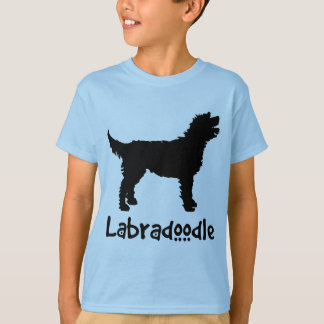 Labradoodle w/ Cool Text (in black) Tees