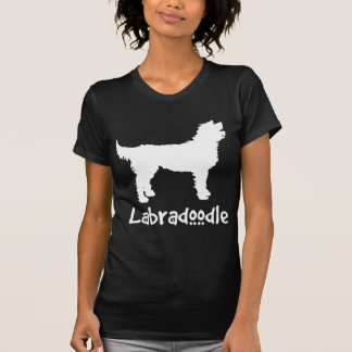 Labradoodle W/ Cool Text (in white) T-Shirt