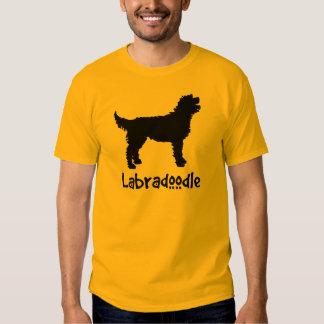 Labradoodle w/ Cool Text Tshirt