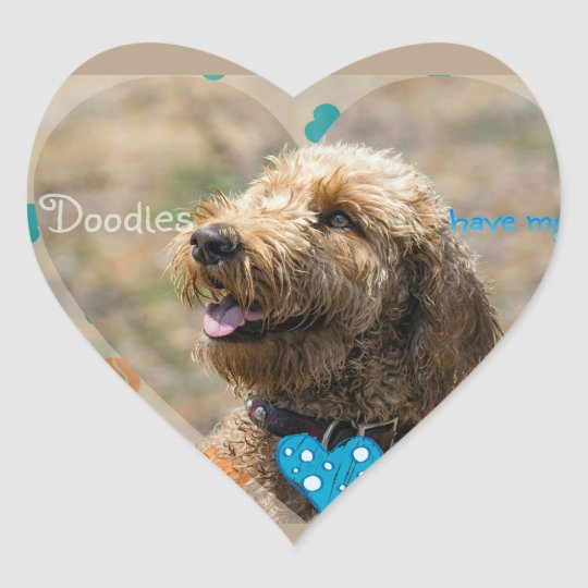 Labradoodles have my ❤ sticker
