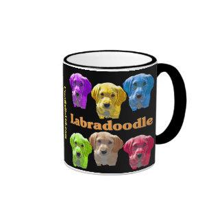 Labradoodles Pop Art Coffee Mugs