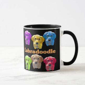 Labradoodles Pop Art Mug