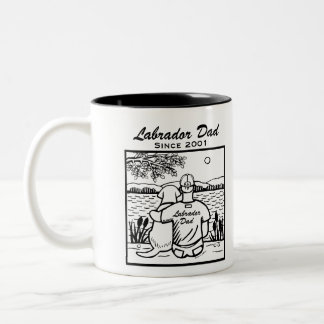 Labrador and Dad Mug
