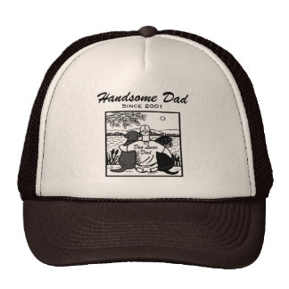 Labrador and Rotti and Dad Trucker Hat