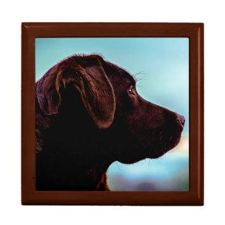Labrador at Dusk Large Square Gift Box